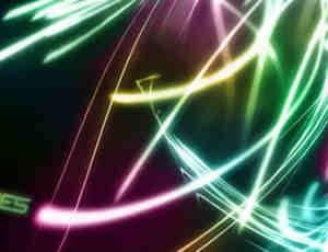 霓虹缤纷流光