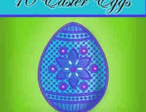 复活节彩蛋笔刷