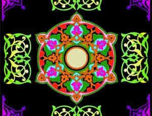 伊斯兰花纹笔刷