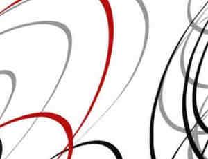 大旋窝线条笔刷