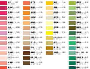 色彩的感情因素与感情效果