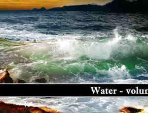 海水海浪笔刷