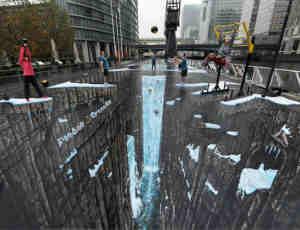 10张街头3D艺术欣赏