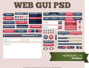 Web图形用户界面素材下载
