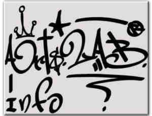 字符涂鸦笔刷