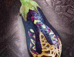 22张蔬菜水果雕刻艺术