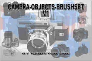 照相机造型笔刷