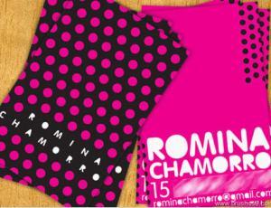 30张粉色系列名片设计