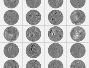 月球陨石坑笔刷