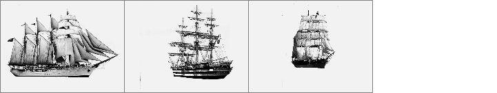 远扬的帆船笔刷
