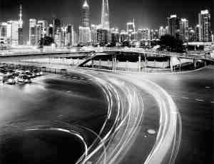 22张黑白摄影下的日本东京美丽的夜景
