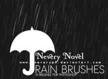 模拟下雨场景笔刷
