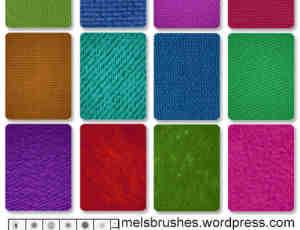 布匹纹理编织物笔刷