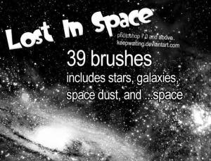 银河星空笔刷