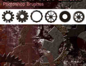 蒸汽齿轮笔刷