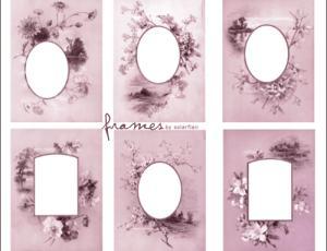 中国古典式窗花笔刷