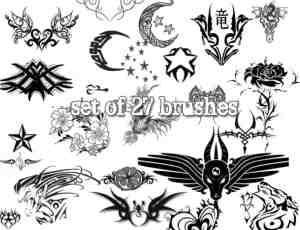 27种另类符号笔刷