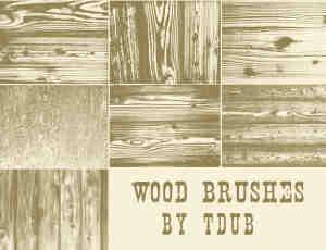木头纹理笔刷