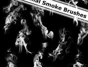 22种流烟烟雾笔刷