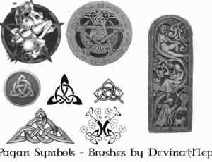 异族宗教符号笔刷
