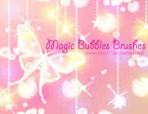 魔法气泡笔刷