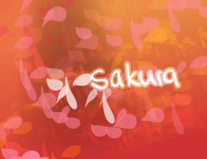 樱花花瓣矢量背景装饰笔刷