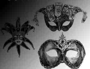 威尼斯的面具笔刷