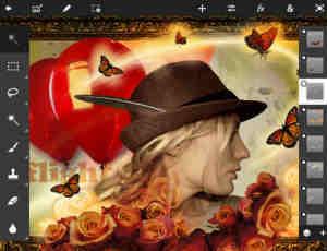 最新iPad版Photoshop Touch已经支持压敏触控笔支持