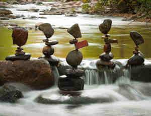 15张有趣的石块平衡摄影