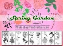 春天的花园PS笔刷下载