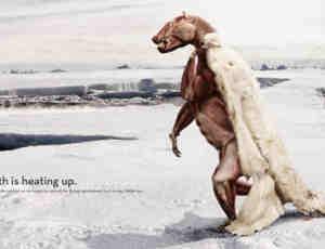 33个全球气候变暖公益海报设计