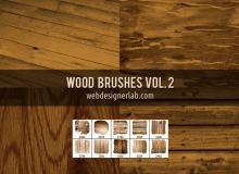 木纹木质纹理效果笔刷下载