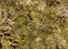 远古时期山洞壁画比赛