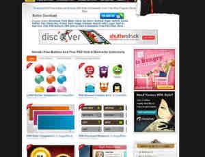 FreeButtonWeb 656+个按钮 620+个Web UI素材供你下载