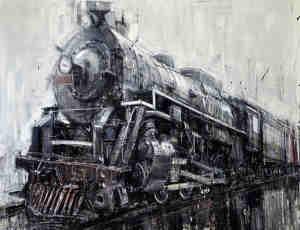 8张独特的模糊化油画作品