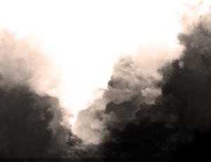 涂抹式云朵笔刷