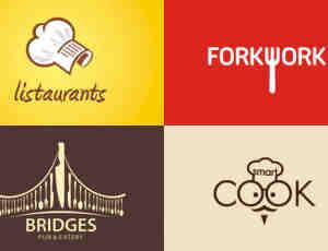 40个餐厅主题式logo设计