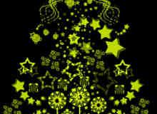 矢量时尚星星装饰背景元素笔刷
