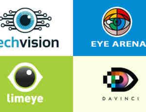 40个眼睛logo标志