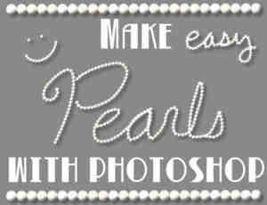漂亮的Photoshop珍珠笔刷
