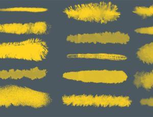 Photoshop数字艺术绘画专用画笔笔刷