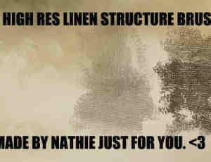 亚麻纹理结构笔刷