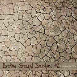 干涸的土地裂纹纹理效果笔刷