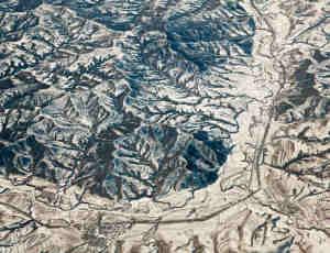 《Above Gobi》高空航拍戈壁摄影