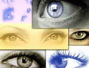 11个人类眼睛替换素材笔刷