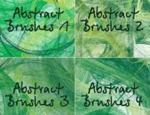 抽象类梦幻抽丝光线笔刷