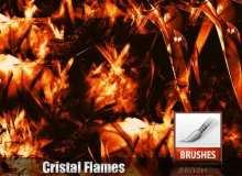 水晶折射的火光PS笔刷
