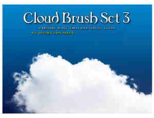 高品质白色云朵PS笔刷#.2