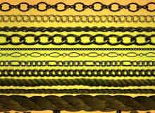 绳索、铁链PS笔刷