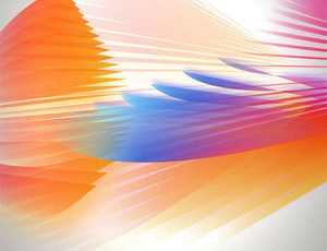 魔幻羽翼光翅膀抽象背景纹理PS笔刷